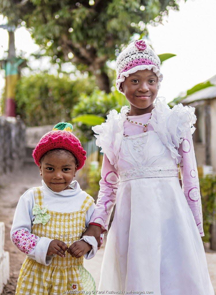 Rasta Kids at Rastafarian Community, Blue Mountains, Saint Andrew Parish, Jamaica